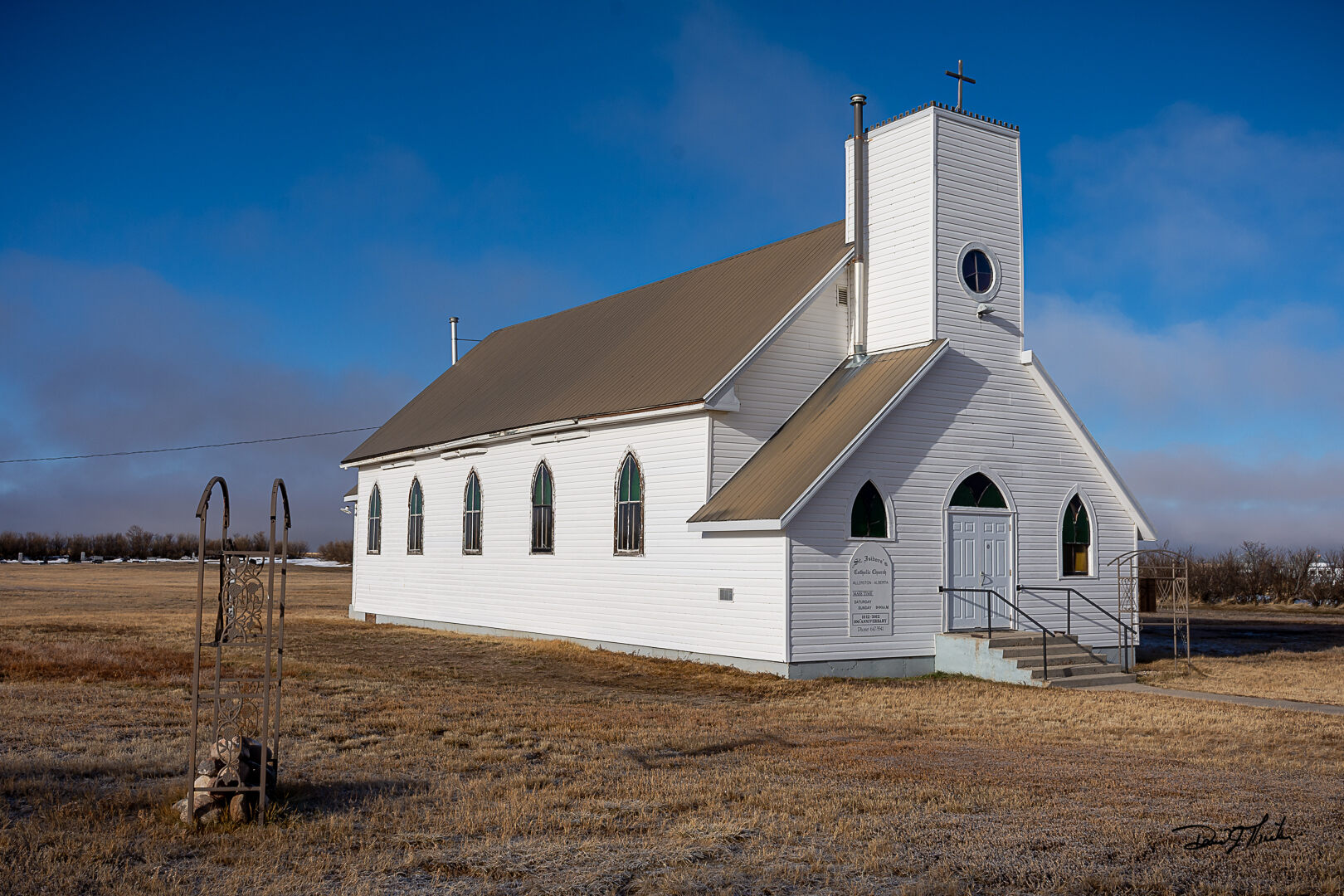 Read more about the article St Isidore's Catholic Church Allertson Alberta